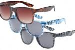 Vans Spicoli 4 'Zebra' Sunglasses.