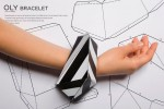 bracelet em papel
